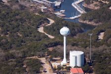 Travis County WCID 17 Water Tower