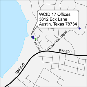 Map to WCID 17 Office